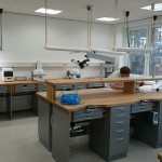 Tischlerei Herling_Umbau Dentallabor Duen_neues Labor fertig